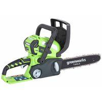 Greenworks Kit Motosega a Batteria da 40V 4Ah GD40CS30 30cm 20117UA