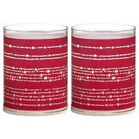 Bolsius Luci Decorative 6 pz Nastro Rosso 103622396741