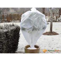 Nature Copertura Antigelo per Piante in Pile 30 g/m² Bianca 0,64x10 m