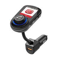 Adattatore Bluetooth per auto - Trasmettitore FM - Caricabatteria da a