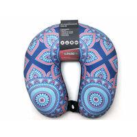 Cuscino da viaggio Trendy 28x29x9cm - Cuscino per il collo Comfort -