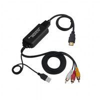 Convertitore AV a HDMI - RCA / composito a HDMI