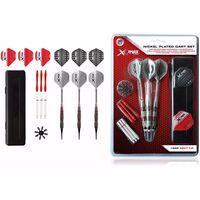 XQmax Darts Set 30 Freccette Nichelate 18 g Punta Morbida QD7000690