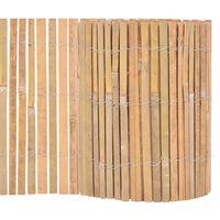 vidaXL Recinzione in Bambù 1000x30 cm
