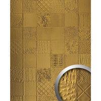 Wallface 13926-sa Pannello Murale Collagen Look Oro