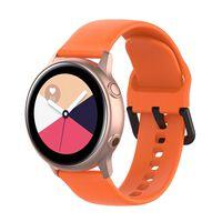 Braccialetto per Samsung Galaxy Watch 42mm - arancione (L)