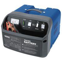 Draper Tools Caricabatterie 28,5x28x20 cm 12/24 V 15 A