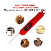 Termometro digitale per arrosti - rosso