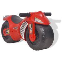 vidaXL Motocicletta Cavalcabile per Bambini in Plastica Rossa