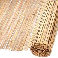 Nature Recinzione da Giardino in Bambù 1,5x5 m