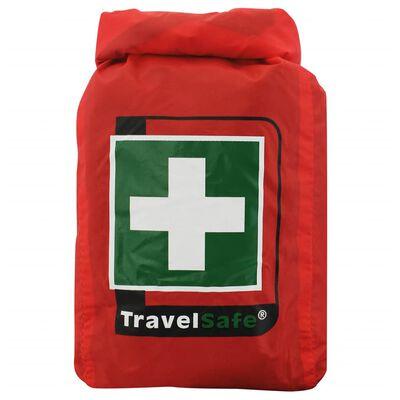Travelsafe Kit di Pronto Soccorso 43 pz Globe Waterproof Rosso