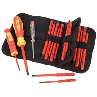 Draper Tools Set 18 Pz Multimetro e Cacciaviti Isolati 05776