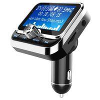 Trasmettitore FM Bluetooth e caricatore per auto con doppia USB 2.4V