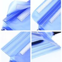 Marsupio impermeabile regolabile - Blu