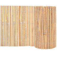 vidaXL Recinzione in Bambù 1000x50 cm