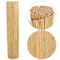 vidaXL Recinzione in Bambù 300x125 cm