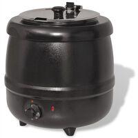 VidaXL Bollitore Elettrico per Zuppe 10 L