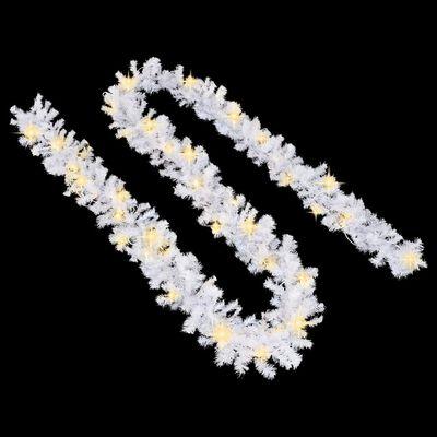 vidaXL Ghirlanda Natalizia con Luci a LED 20 m Bianca