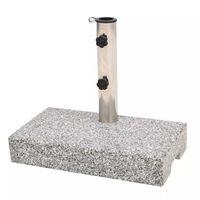 vidaXL Base per Parasole in Granito Rettangolare 25 kg