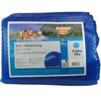 Summer Fun Copertura Solare per Piscina Rotonda 300 cm in PE Blu