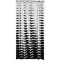 Sealskin Tenda per doccia Speckles 180 cm nera 233601319