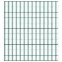 vidaXL 2D Pannelli Recinzione Giardino 2,008x2,23 m 22m (Totale) Verde