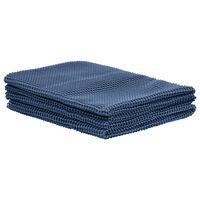 vidaXL Tappeto da Tenda 250x500 cm Blu