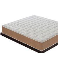 Materasso 80x190 Con 5 Cm Di Memory Foam – Ortopedico – Alto 25 Cm