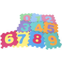 ABC Puzzle Mat - Grande - Playmat - Playmat - Stuoia a righe - Schiuma