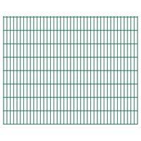 vidaXL 2D Pannelli Recinzione Giardino 2,008x1,63 m 4 m (Totale) Verde