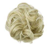 Scrunchie con capelli sintetici - biondo