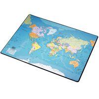 Esselte Sottomano da Scrivania Mappa del Mondo 41x54 cm
