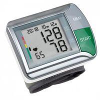 Medisana Misuratore di Pressione da Polso HGN Bianco e Argento
