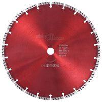 vidaXL Disco da Taglio Diamantato con Turbo in Acciaio 300 mm