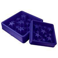EAT SLOW LE LONGER Ciotola Slow Feeder Star Blu L