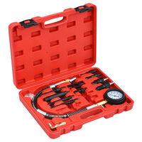 vidaXL Kit Tester di Compressione 12 pz per Motori Diesel