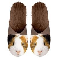 Plenty Gifts Pantofole in Peluche Cavia Marrone Misura 39-42 42557