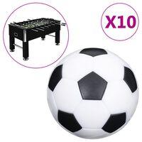 vidaXL Palline per Calcio Balilla 10 pz 32 mm ABS