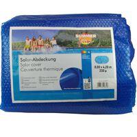 Summer Fun Copertura Solare per Piscina Ovale 800x420 cm in PE Blu