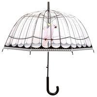 Esschert Design Ombrello Trasparente con Uccelli