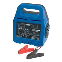 Draper Tools Caricabatterie Intelligente 18,4x11,2x8,6 cm 6 V/12 V