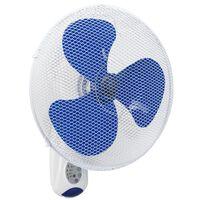 Bestron Ventilatore da Parete con Telecomando 40cm 45W Bianco AWF40REM