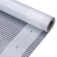 vidaXL Telone Leno 260 g / m² 3x6 m Bianco