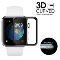 Proteggi schermo per Apple Watch 2/3 (38 mm) in vetro temperato 3D cur