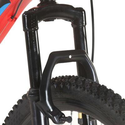 "vidaXL Mountain Bike 21 Speed 29"" Ruote 48 cm Rosso"