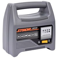 Sthor Caricabatterie con LED 12V 6A 90Ah
