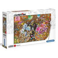 Clementoni Puzzle Mordillo The Kiss 6000 pz