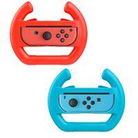 Volante per Nintendo Switch Joy-Con - 2 pezzi - rosso / blu