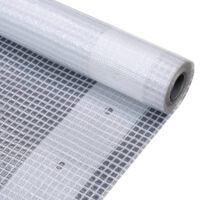 vidaXL Telone Leno 260 g / m² 2x6 m Bianco