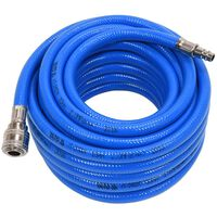 YATO Air Hose with Coupling PVC 10mmx10m Blue